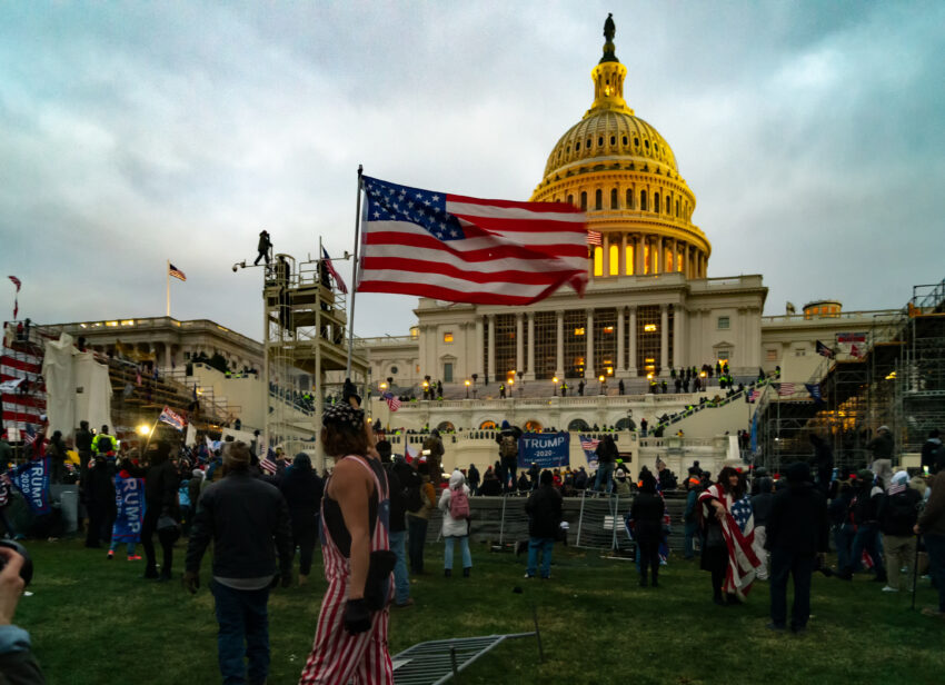 Der Sturm auf das United States Capitol am 6. Jänner 2021