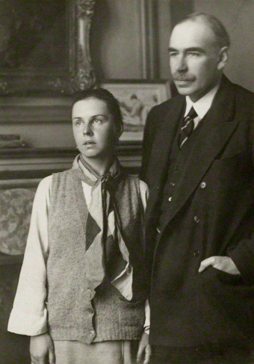 Lydia Lopokova und Keynes in den 1920er-Jahren